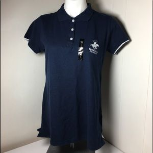 New Beverly Hills Polo Club polo shirt size L